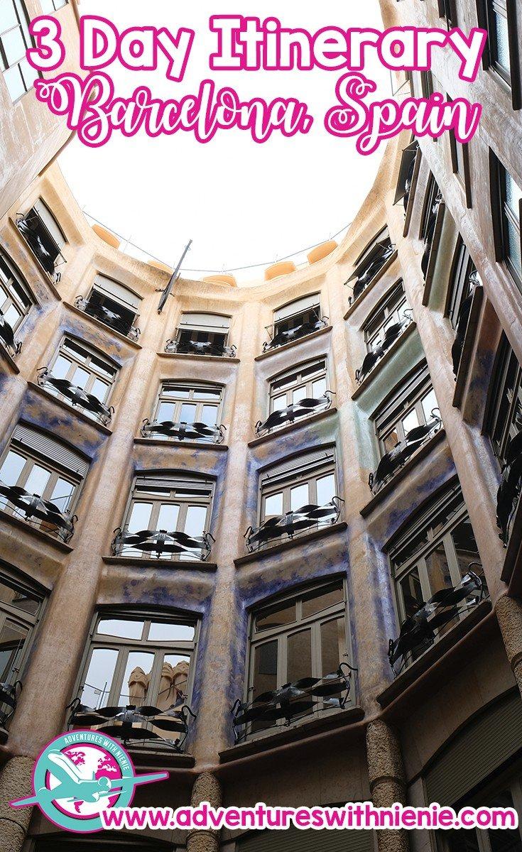 3 Day Itinerary Barcelona | 3 Days in Barcelona