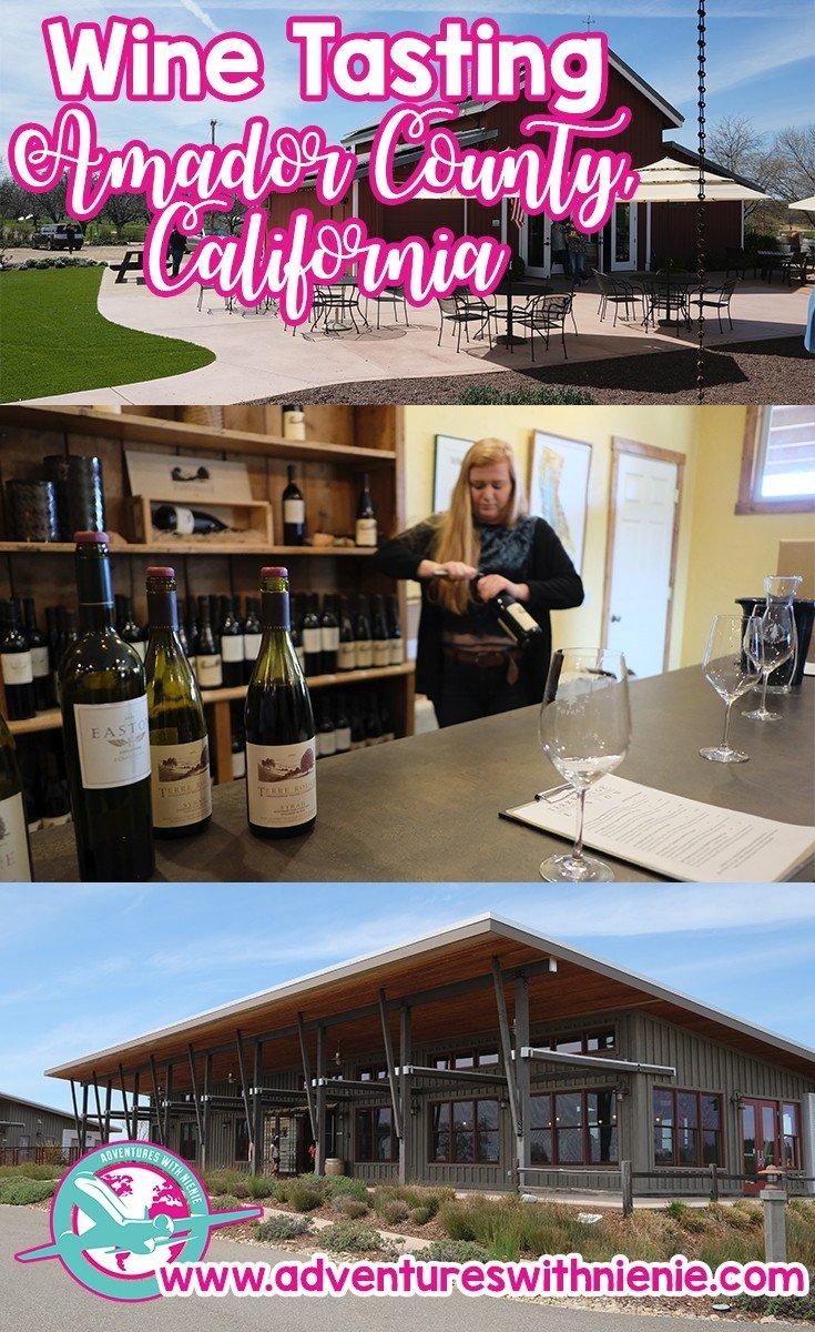 Wine Tasting Amador County