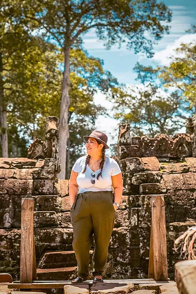 NieNie in Cambodia