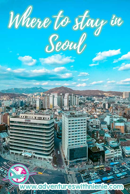 Where to stay in Seoul Hotels in Seoul Pinterest Cover