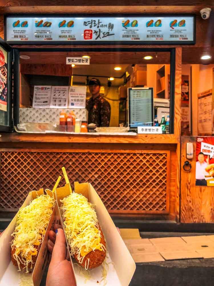 Korean Hot Dogs